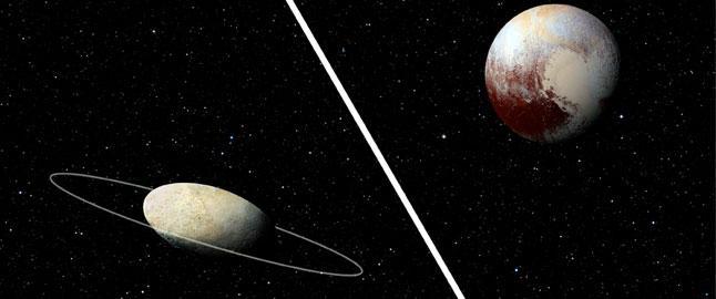 Haumea, the dwarf planet reveals its ring | ERC: European ...